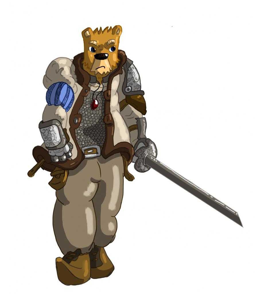 Bear-duelist